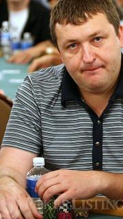 Tony G at the No-Limit Hold'em with Re-buys Event
