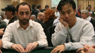 Barry Greenstein and Kido Pham