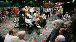 The Final Table Area