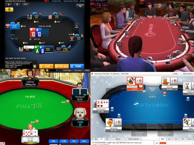 Six Online Poker Sites You Can Play Right Now
