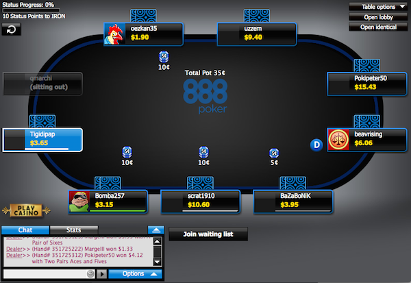 Fake money poker sites jeux de roulette en live
