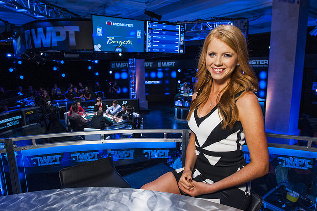 Co host world poker tour