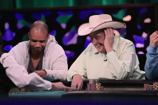 Phil Ivey Doyle Brunson