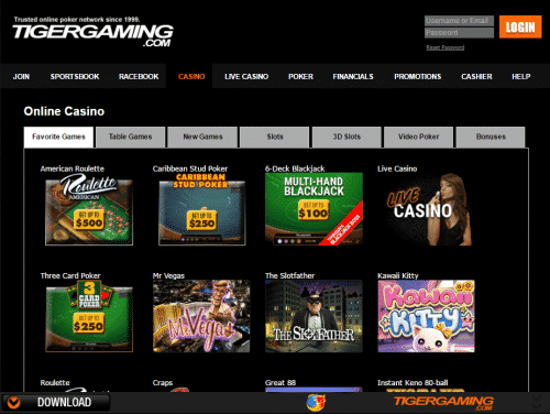 Tiger Gaming Poker | Full Tiger Gaming Review & Sign-Up Bonus