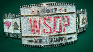 2017 WSOP Main Event Bracelet 2017 WSOP EV73 Day 1A Furman 8FU4153