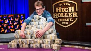 Champion Christoph Vogelsang 2017 Super High Roller Bowl Final Table Part 2 Giron 8JG9978