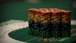 Chip stack on WSOP Main Event 2015 Day 1A 2