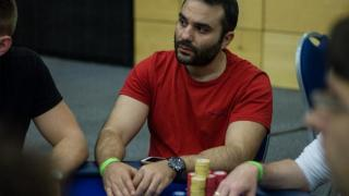 Pavlos Xanthopoulos Day 1a chip leader IMG 0170