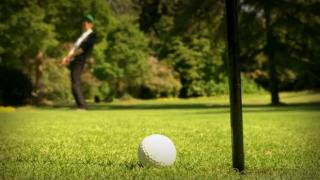 Rise and Grind Sentin CaptnKrnch Skip Work to Play Pitch and Putt