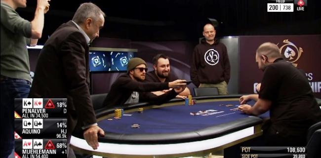 Poker Video of the Week: 3 Monsters, 1 Aaron Paul Picture