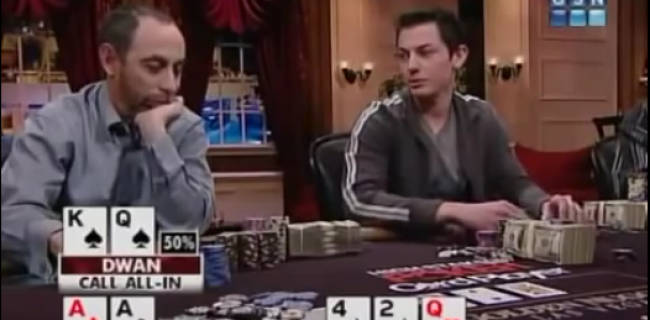 Tom 'durrrr' Dwan v. Barry Greenstein in Biggest Pot Ever Played On TV