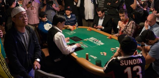 WSOP Main Event Bubble 2