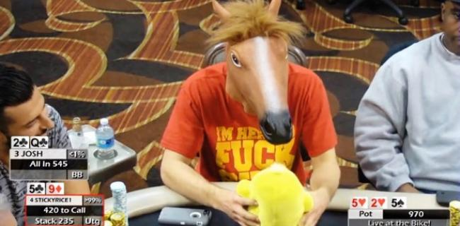 Poker Video of the Week: StickyRice Goes Berserk at The Bike