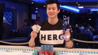winner 888poker london ka him li