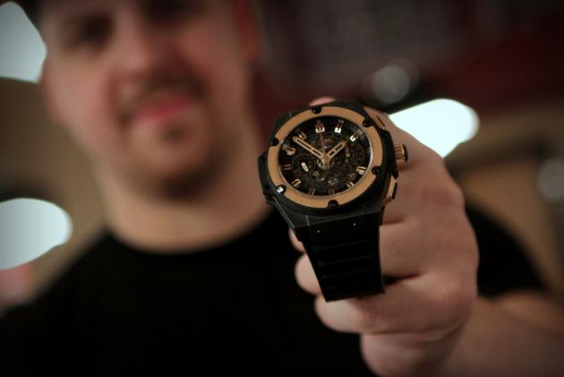 Noah Schwartz's Hublot Big Bang