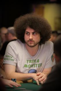 Alex Jacob at 2016 World Series of Poker