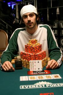 Jason Mercier Bracelet Winner