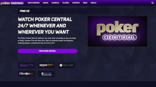 Poker Central screen