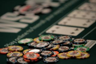 WSOP Chips and Cards