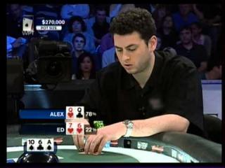 Alex Jacob in WPT