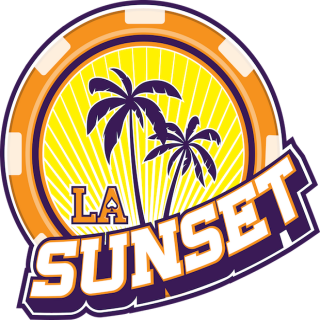 LA sunset logo