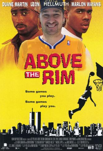 Phil Hellmuth above the rim
