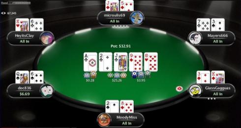 pokerstars NJ real money