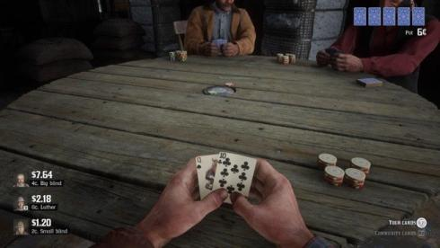 poker rigged red dead redemption