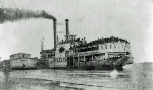 overloaded sultana before the disaster
