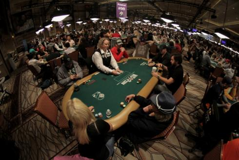 WSOP Main Event Fisheye