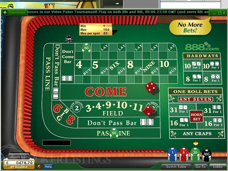 Play craps for real money free online casino bonus games slots
