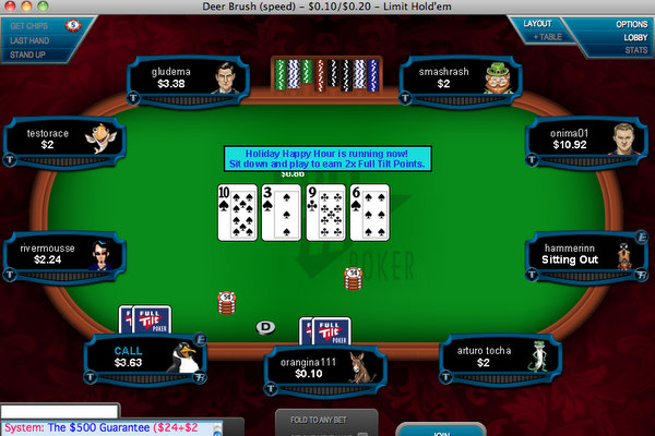 Full Tilt Poker Mobile Tournaments