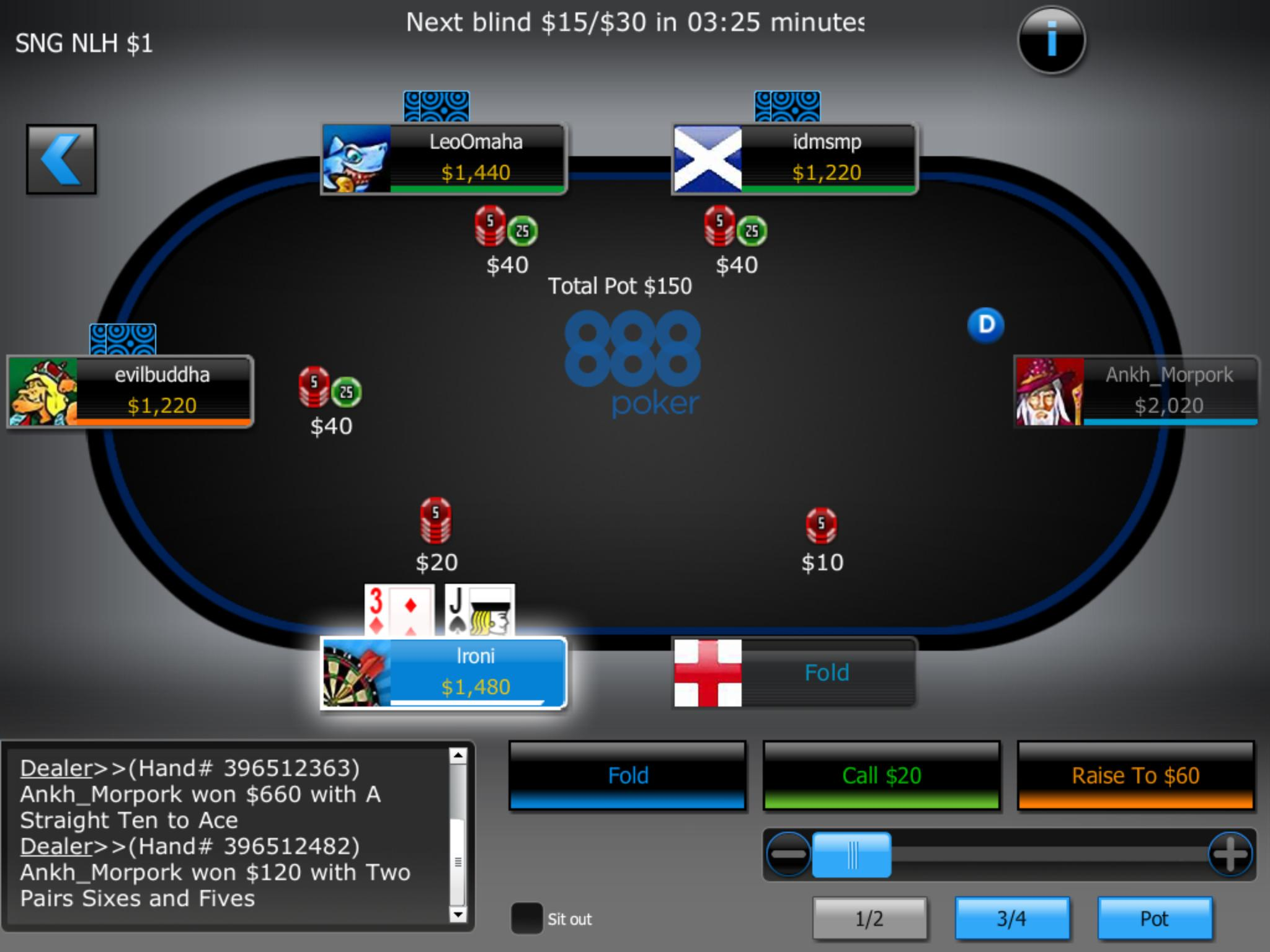 888 poker nj craps maximum odds bet