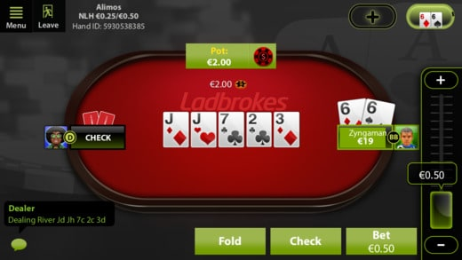 ladbrokes betting rules in blackjack