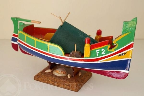 Souvenirs of malta what to bring home besides from bom after the maltese cross the luzzu is maltas unofficial emblem these brightly colored fishing boats blue yellow red or green always have an oculus solutioingenieria Images