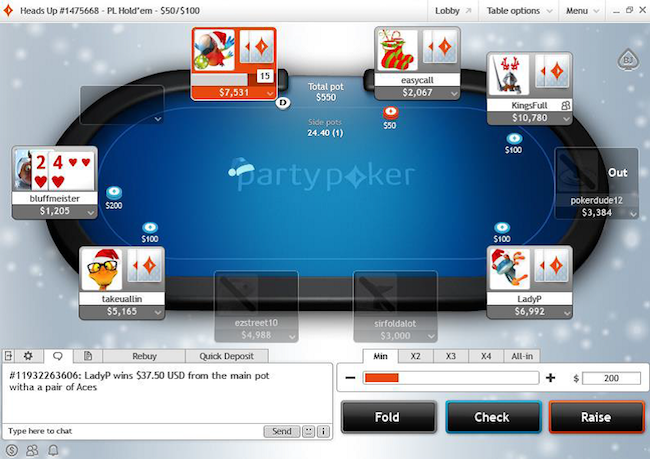 party poker online