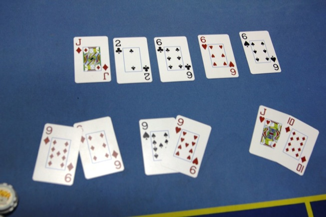 Texas Holdem Split Pot