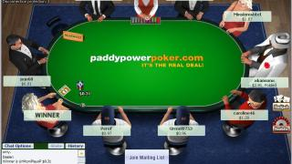 Paddy Power Poker Table