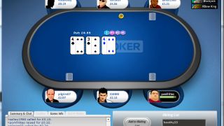 Sky Poker Table