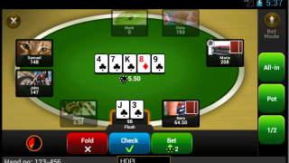PartyPoker Android Table