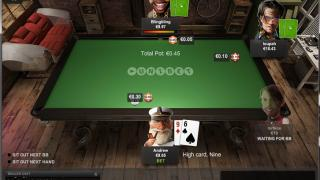 Unibet Mobile Table