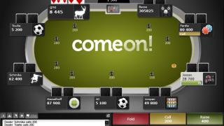 ComeOn! Poker Table