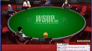 WSOP Poker Table
