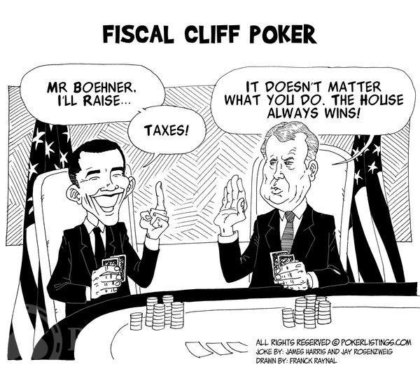 Poker Joker - Fiscal Cliff Poker