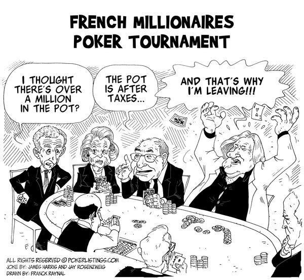 Poker Joker - French Millionaires Poker Tournament