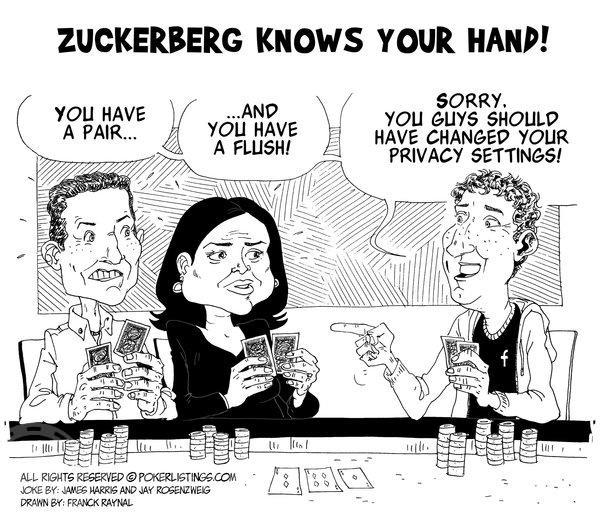 Poker Joker - Zuckerberg Knows Your Hand