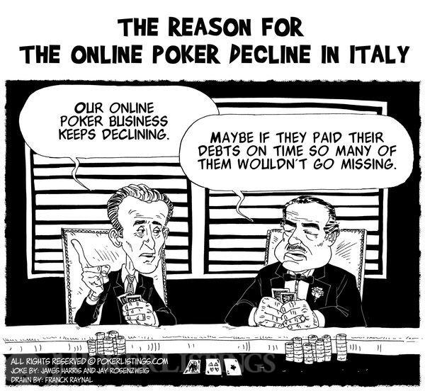 Poker Joker - The Reason for the Online Poker decline in Italy