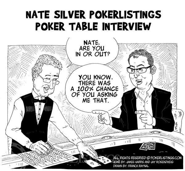 Poker Joker - Nate Silver PokerListings Poker Table Interview
