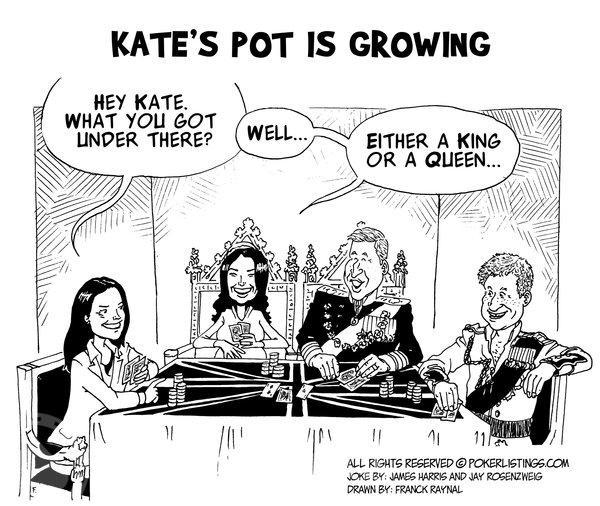 Poker Joker - Kate's pot is   growing