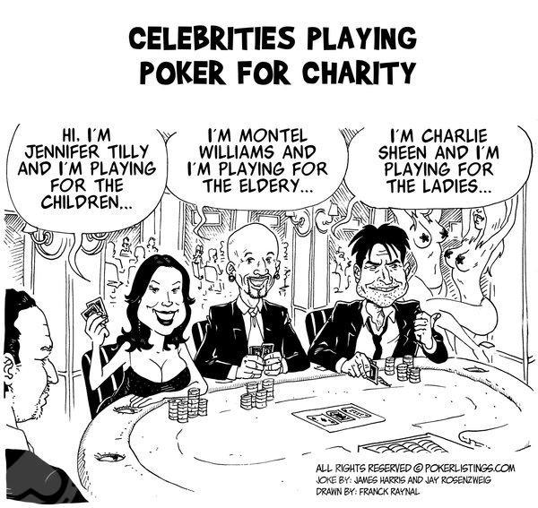 Poker Joker - Celebrities playing poker for charity